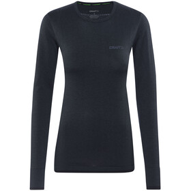 """Craft W's Active Comfort Roundneck LS Shirt Black"""